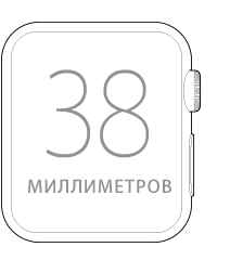 Apple Watch Sport 38mm Space Gray (MJ2X2), Эппл Вотч Спорт 38мм (MJ2X2)