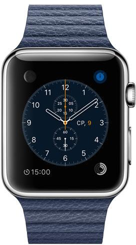 Apple Watch 42mm Leather MLFD2, Эппл Вотч 42мм Кожаный ремешок MLFD2