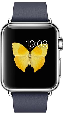 Apple Watch 38mm Leather MJ332, Эппл Вотч 38мм Кожаный ремешок MJ332