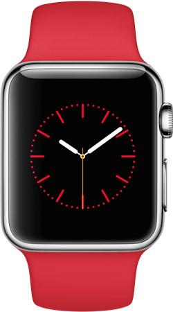 Apple Watch 38mm Red MLLD2, Эппл Вотч 38мм MLLD2
