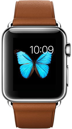 Apple Watch 38mm Leather MLCL2, Эппл Вотч 38мм Кожаный ремешок MLCL2