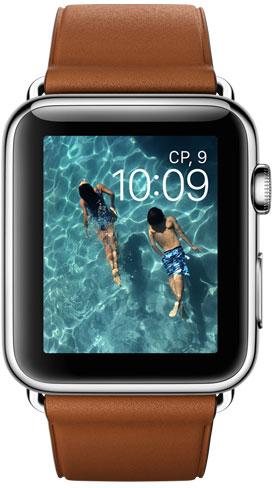 Apple Watch 42mm Leather MLC92, Эппл Вотч 42мм Кожаный ремешок MLC92