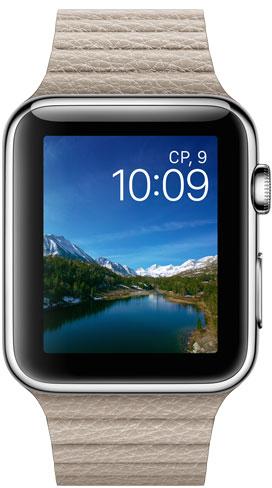 Apple Watch 42mm Leather MJ442, Эппл Вотч 42мм Кожаный ремешок MJ442