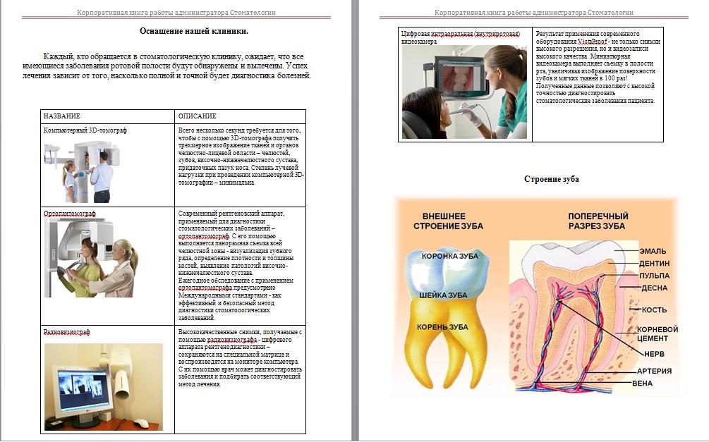 Должностные инструкции администратора стоматологической клиники
