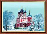церковь зима