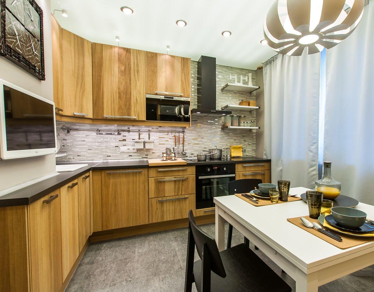 Дизайн интерьера кухни 10 метров