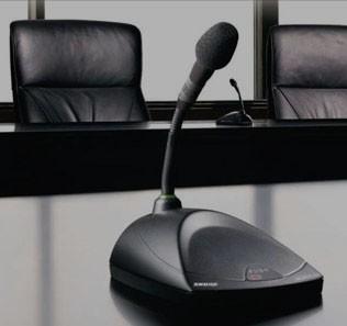 Микрофоны SHURE для презентаций и конференций
