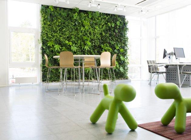 система вертикального озеленения
