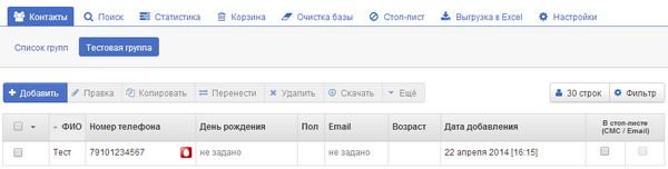 Федеральный SMS оператор