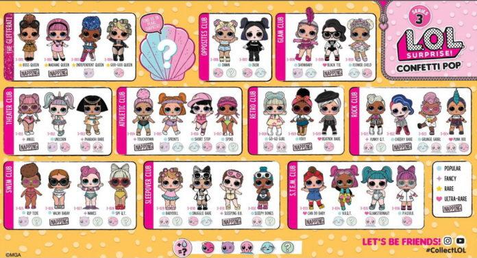 куклы лол конфетти лол поп купить с доставкой по россии