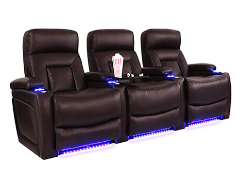 Home theater seatings