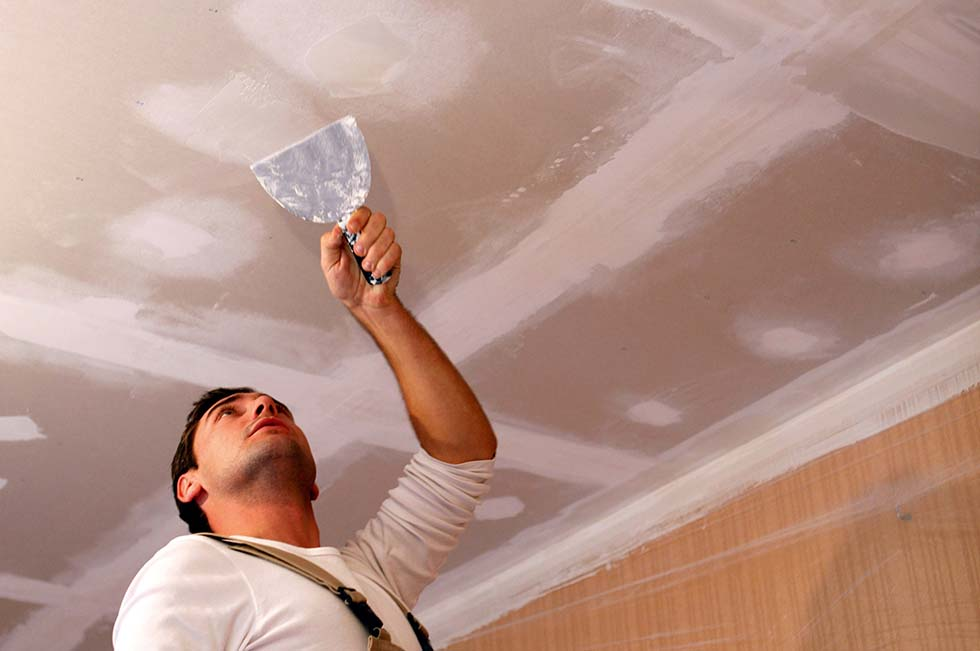 Patching, painting, wall and ceiling repairs