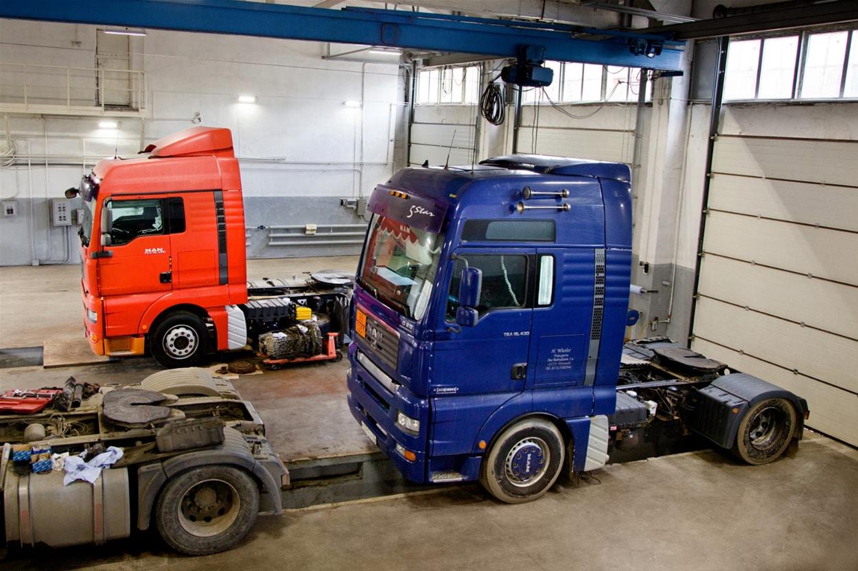 Как выбрать сервис по ремонту грузовых авто?