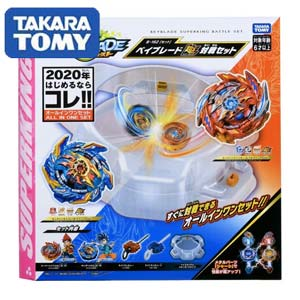 Такара Томи. Бейблэйд Берст Набор Супер Гиперион B-162 (Takara Tomy BEYBLADE Battle Set featuring Super Hyperion B-162)