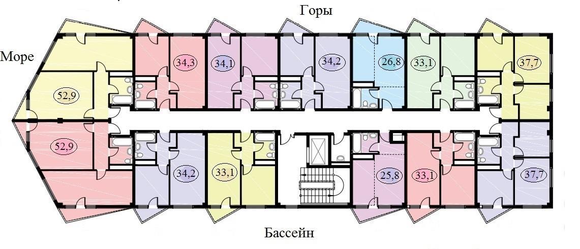 План этажа 5