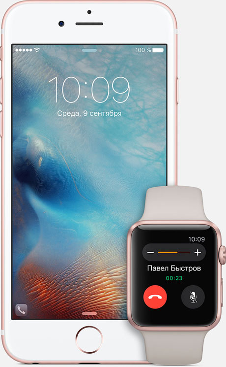 Apple iPhone 6s Rose gold Apple Watch Sport Rose Gold
