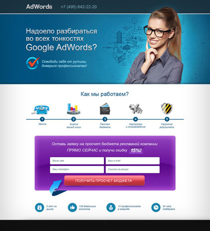 Контекстная реклама AdWords