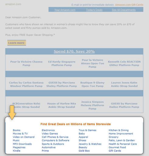 целевые страницы для email маркетинга