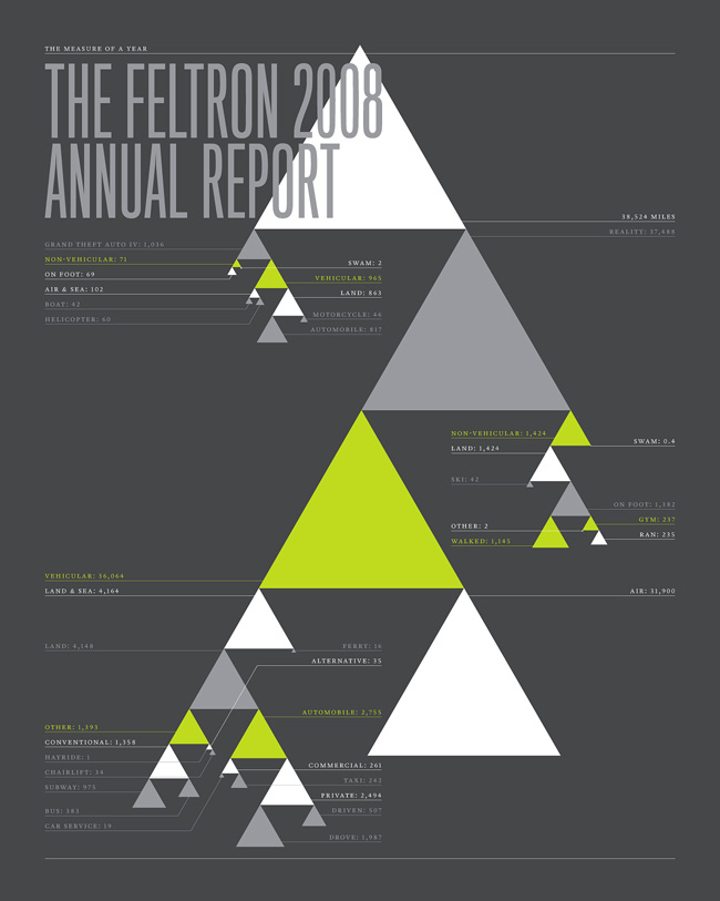 The Feltron 2008 Annual Report