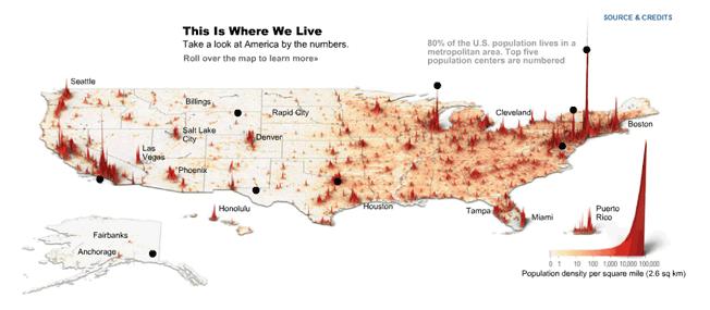 Где живет Америка