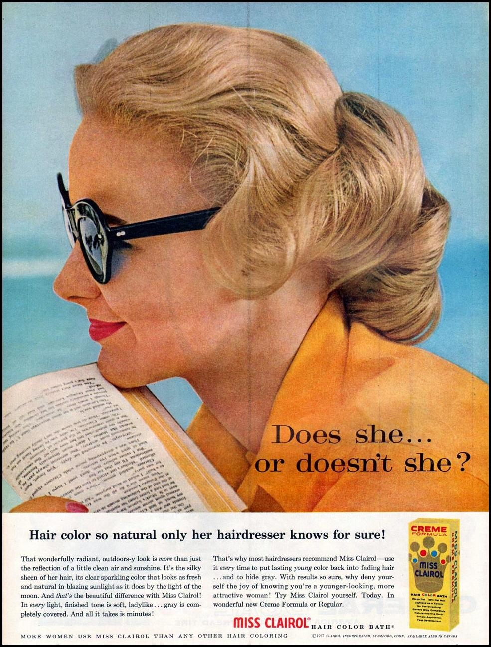 Clairol: Does She or Doesn't She?