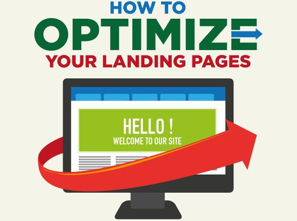 Иллюстрация к статье: 15 шагов оптимизации целевой страницы (инфографика)