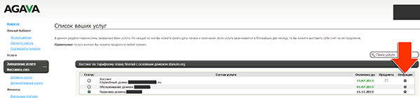 Иллюстрация к статье: Привязка домена и поддомена в панели agava.ru