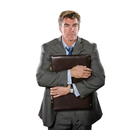 Бизнесмен с портфелем