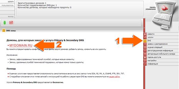 Иллюстрация к статье: Привязка домена и поддомена в панели mastername.ru
