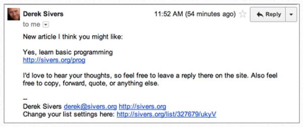 email-сообщения