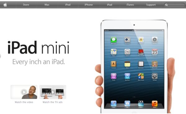 Влияние цвета на конверсию целевых страниц, Apple