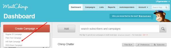 Практически любая email-платформа позволит вам легко создать сплит-тест