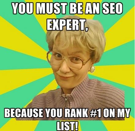Должно быть, вы большой SEO-специалист, потому что занимаете первое место в моем сердце!
