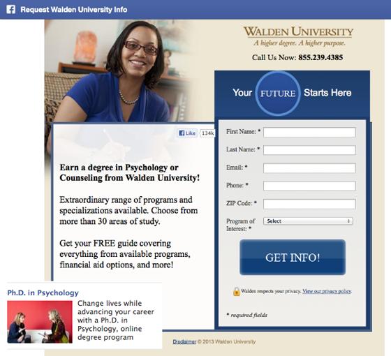 Университет Уолдена: доктор философии