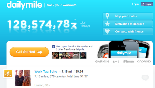 3. Dailymile
