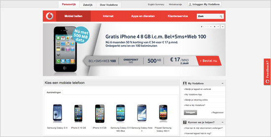 Vodafone.nl
