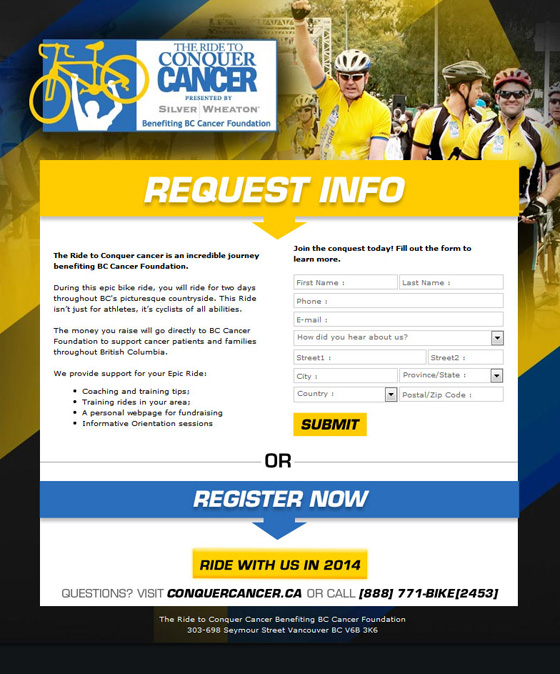 Ride to Conquer Cancer