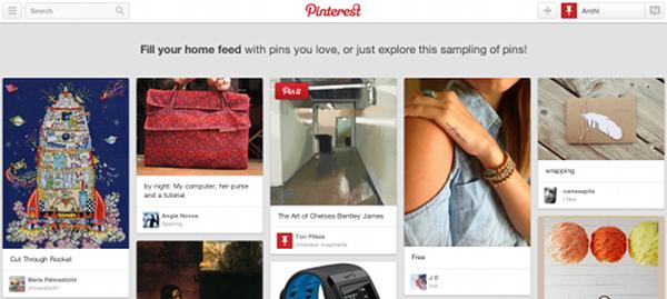 3. Pinterest