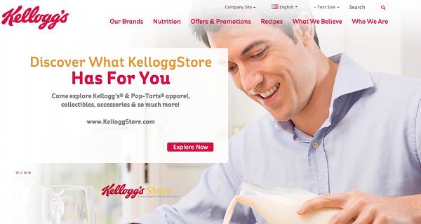 7. Kellogg's