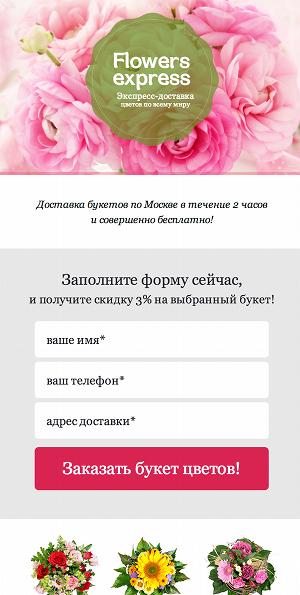 Мобильные целевые страницы