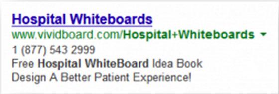 объявление контекстной рекламы Google Adsense