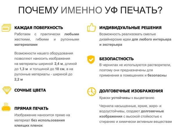 ДЕКОРЕС — УФ-печать
