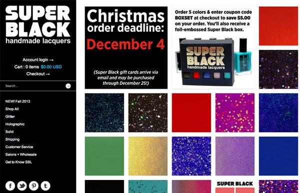 superblacklacquers.com
