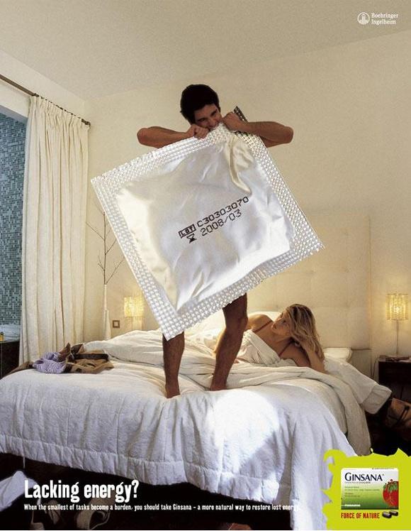 19. Ginsana: Condom