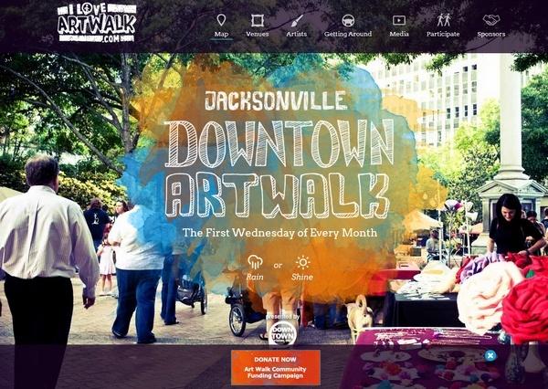 jacksonvilleartwalk.com