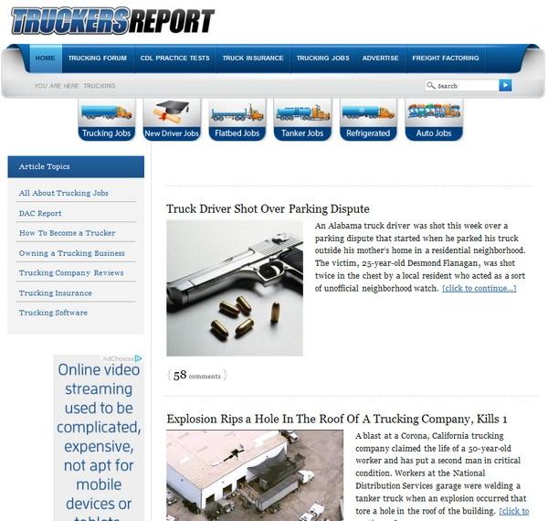 Truckers Report