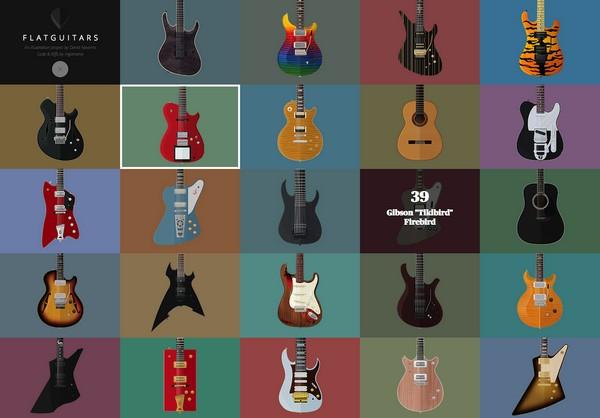 Flat Guitars