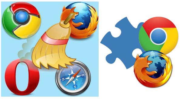 Иллюстрация к статье: Как очистить кэш браузера и отключить расширения?