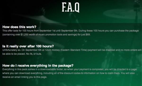 секция FAQ