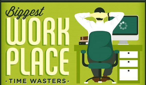 Капканы времени, или на что сотрудники тратят рабочее время